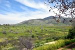 Golanhoogte nabij Sirië